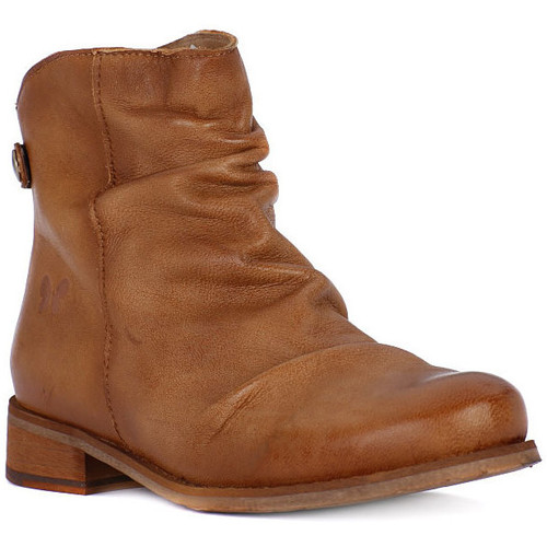 Felmini TAMPONADA CUOIO Marrone - Chaussures Low boots Femme