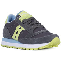 Chaussures Femme Baskets basses Saucony JAZZ CHARCOAL GREEN Grigio