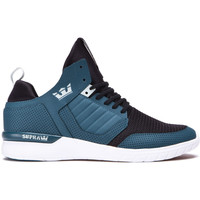 Chaussures Homme Baskets basses Supra Chaussures  METHOD Teal white Bleu