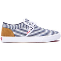 Chaussures Homme Baskets basses Supra Chaussures  CUBA White navy Blanc