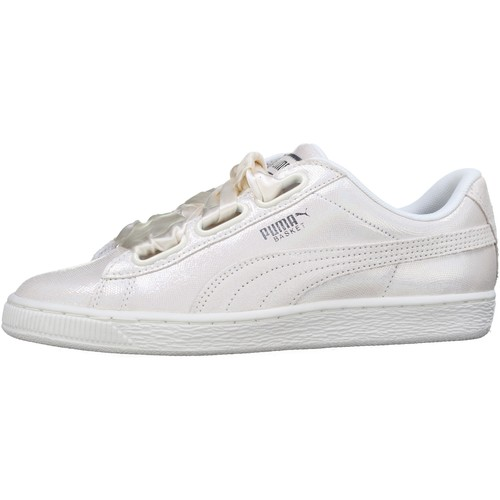 Puma Basket Heart Ns Wn S Blanc - Chaussures Baskets basses Homme