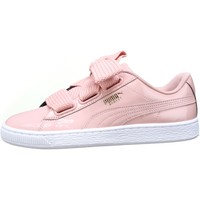 Chaussures Femme Baskets basses Puma Basket Heart Patent Wn's 363073 - 11 Rose Rose