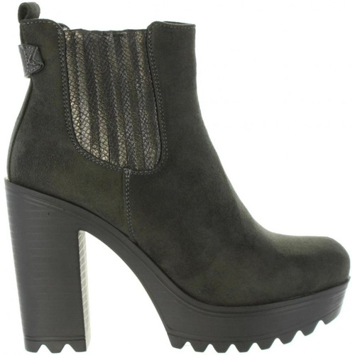 Refresh 63821 Marrón - Chaussures Bottine Femme