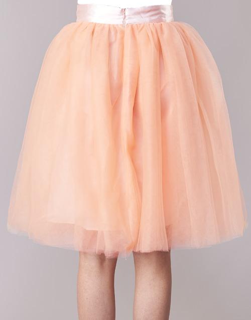 I-LOVA  Betty London  jupes  femme  rose / beige