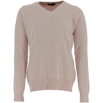 Vêtements Femme Pulls Real Cashmere Pull col V  Femme - IDS1085002-ROSE Rose