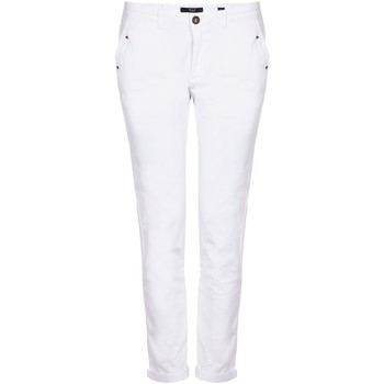 Vêtements Femme Chinos / Carrots Hod HONORE Blanc