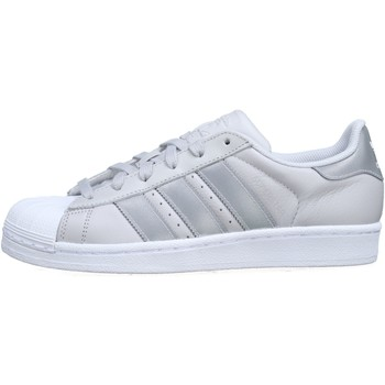 Chaussures Homme Baskets basses adidas Originals Superstar J Cq2689 Gris Gris