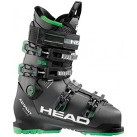 Chaussures Ski Head CHAUSSURES  ADVANT EDGE 95 ANTHRACITE/BLACK/GREEN 2018 Unicolor