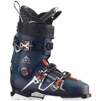 Chaussures Ski Salomon CHAUSSURES  QST PRO 120 PETROL BLUE BLACK OR 2018 Unicolor