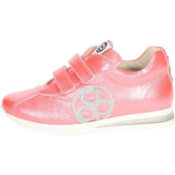 Chaussures Enfant Baskets basses Florens E2330 Petite Sneakers Fille Corail Corail