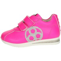 Chaussures Enfant Baskets basses Florens E2330 Petite Sneakers Fille Fuchsia Fuchsia