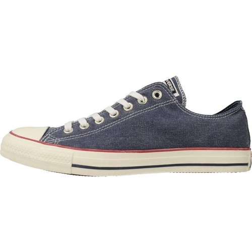 Converse CTAS OX Blue - Chaussures Baskets basses Homme