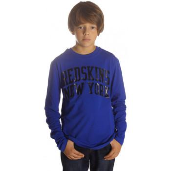 Vêtements Garçon T-shirts manches longues Redskins T-Shirt Manches Longues Garçon Tracal Bleu Electric Bleu