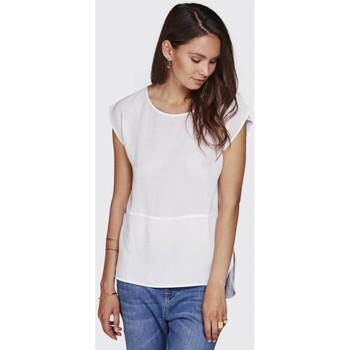 Vêtements Femme T-shirts manches courtes Minimum SILKE Blanc