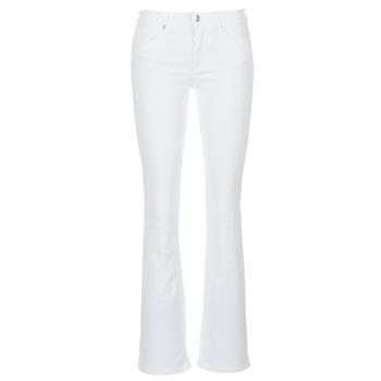 Vêtements Femme Jeans bootcut Yurban IALOLAO Blanc