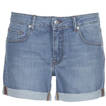 Vêtements Femme Shorts / Bermudas Moony Mood INYUTE Bleu clair