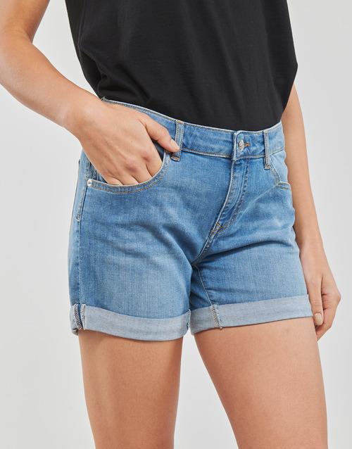 INYUTE  Moony Mood  shorts / bermudas  femme  bleu clair