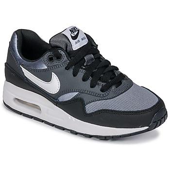 Chaussures Garçon Baskets basses Nike AIR MAX 1 GRADE SCHOOL Noir / Gris