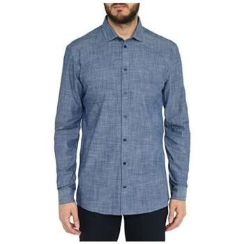 Vêtements Homme Chemises manches longues Minimum THOMPSON Bleu