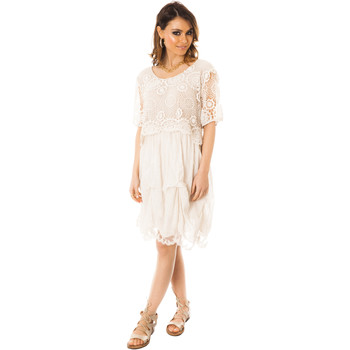 Vêtements Femme Robes courtes Les Gamines De Paris Julie Beige Beige