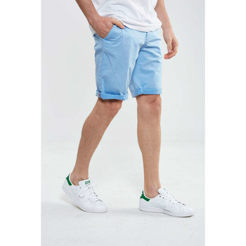 Vêtements Homme Shorts / Bermudas Hero Seven CHINO SHORT Bleu