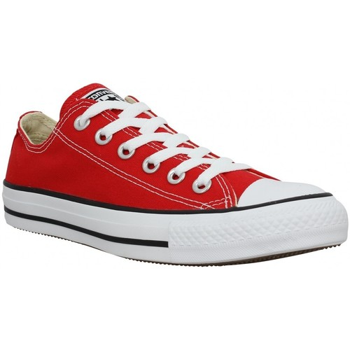 Chaussures Femme Baskets mode Converse Chuck Taylor All Star toile Femme Rouge Rouge