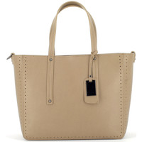 Sacs Femme Cabas / Sacs shopping Laura Moretti Sac RAWEL Femme Collection Automne Hiver Taupe