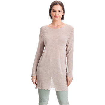 Vêtements Femme Pulls Laura Moretti Pull DENY Taupe