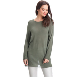 Vêtements Femme Pulls Laura Moretti Pull DENY Femme Collection Automne Hiver Vert