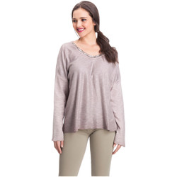 Vêtements Femme Pulls Laura Moretti Pull DAPHNY Femme Collection Automne Hiver Rose