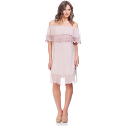 Vêtements Femme Robes courtes Laura Moretti Robe NIRVY Rose