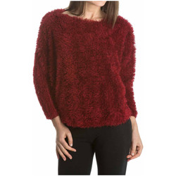 Vêtements Femme Pulls Laura Moretti Pull MARYN Femme Collection Automne Hiver Rouge