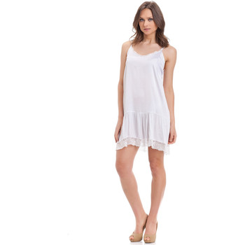 Vêtements Femme Robes courtes Laura Moretti Robe MILY Blanc