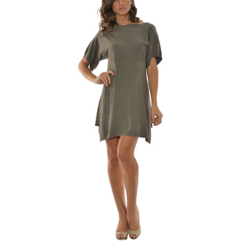 Vêtements Femme Robes courtes Laura Moretti Robe STACY Femme Collection Automne Hiver Taupe