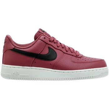 Chaussures Homme Baskets basses Nike ZAPATILLAS  AIR FORCE 1 WINE/BLACK Rouge