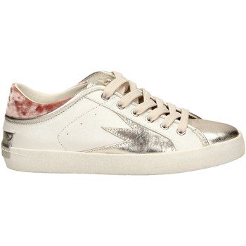 Chaussures Femme Baskets basses Crime London FAITH LO blanc