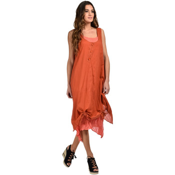 Vêtements Femme Robes courtes Bella Blue Robe MAGDALENA Orange