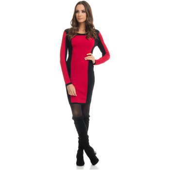 Vêtements Femme Robes courtes Tantra Robe OLIVIA Femme Collection Automne Hiver Rouge