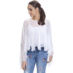 Vêtements Femme Tops / Blouses Tantra Top NICKY Blanc