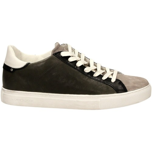 Crime London BEAT vert - Chaussures Baskets basses Homme