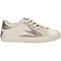 Chaussures Femme Baskets basses Crime London FAITH LO EXPLOSION blanc