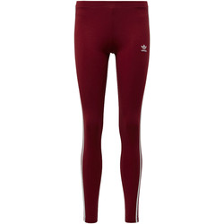 Vêtements Femme Leggings adidas Originals Legging 3-Stripes Rouge