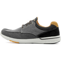 Chaussures Homme Baskets basses Skechers Relaxed Fit Elent - Mosen Black