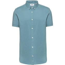 Vêtements Homme Chemises manches courtes Kronstadt JOHAN VINTAGE Bleu