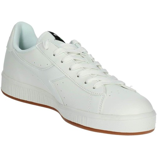 Diadora 101.160281 C0657 Petite Sneakers Homme Blanc Blanc - Chaussures Baskets basses Homme