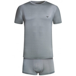 Vêtements Homme Pyjamas / Chemises de nuit Emporio Armani EA7 Pyjama  - Ref. 111746-7A594-00017 Argent