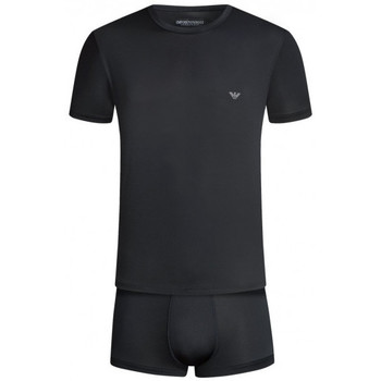 Vêtements Homme Pyjamas / Chemises de nuit Emporio Armani EA7 Pyjama  - Ref. 111746-7A594-00020 Noir