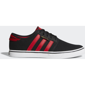 Chaussures Homme Baskets basses adidas Originals Chaussure Seeley Noir / Rouge / Blanc