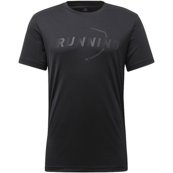 Vêtements Homme T-shirts manches courtes adidas Performance T-shirt Running Graphic Noir