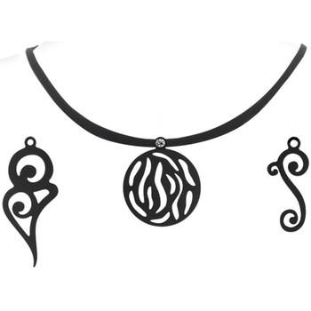 Montres & Bijoux Femme Colliers / Sautoirs Blue Pearls LAD 0602 G Autres